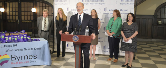 UnitedHealth Group and Governor Wolf Announce Opioid Kit Donation