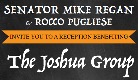 Invitation: Reception Benefitting the Joshua Group Monday May 6th 7-10 PM