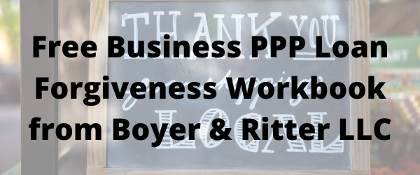 Boyer & Ritter LLC Offering Free PPP Workbook for Businesses Effected by COVID-19
