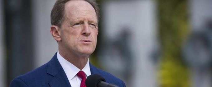 Senator Pat Toomey Announces That He Won't Seek Re-election or Bid for Governor